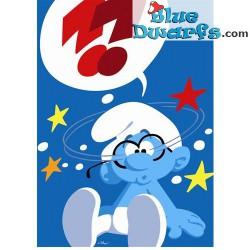 Poster '??' *brainy smurf* (50 x 70 cm)