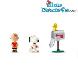 Valentine  Scenery Pack (peanuts/ Snoopy)