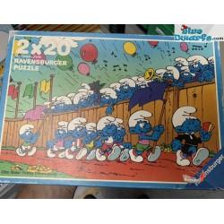 1 x Prodotto I puffi - puzzle
