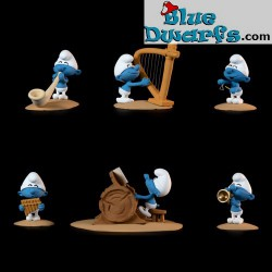 Fariboles Smurf band with...