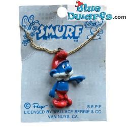 necklace 1981 -1- Papa smurf