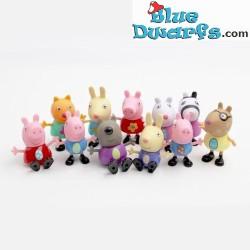 Peppa Pig - 11 figurines...