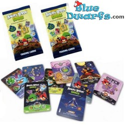 6 Angry Birds Trading cards...