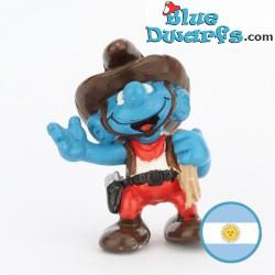 20122: Cowboy Smurf...