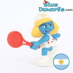 20135: Tennis Smurfette...
