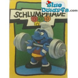 40507: Weightlifter Smurf (Supersmurf/ MIB)