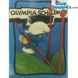 40506: Pole Vaulter Smurf (Supersmurf/ MIB)