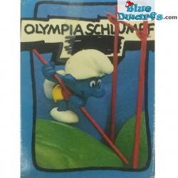 40506: Pole Vaulter Smurf (Supersmurf/ MIB)