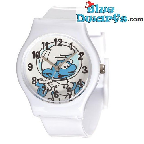 Clumsy smurf watch