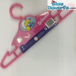 Smurfette clotheshanger (3 x)