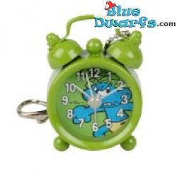 Wilder Schlumpf Mini-Uhr (Schlüsselring)