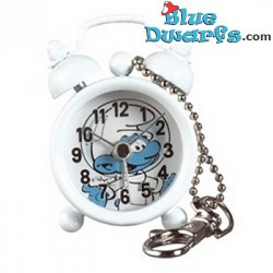 Astro Smurf mini clock with alarm (keyring)