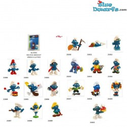 19 x smurf on blister
