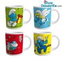 4 x smurf mug (20,7 cl)