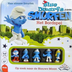 Smurf game: The blue moon
