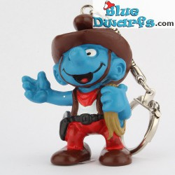 20122: Cowboy Schlumpf (Schlüsselring)