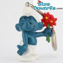 20044: Verliefde Smurf (Sleutelhanger)