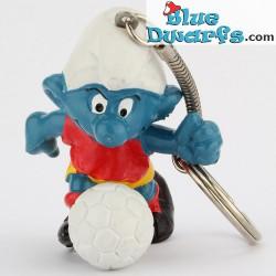 20035: Voetballer Smurf (Sleutelhanger)