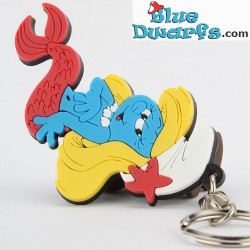 Mermaid Smurfette (keyring)