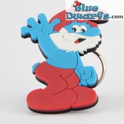 Papa Smurf (keyring)