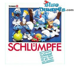 Smurf show catalog 1965-1986 (German)