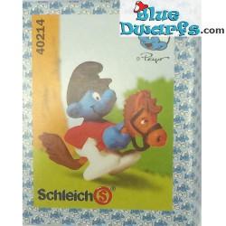 40214: Smurf on Hobby horse (MIB)
