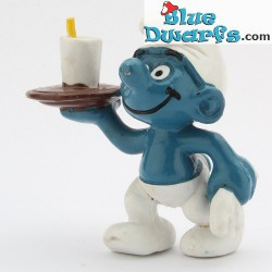 20162: Waiter Smurf (brown tray)