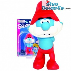 Papa smurf *Plastic* (Goldie Marketing, +/- 15 cm)