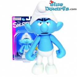 Grouchy Smurf *Plastic* (Goldie Marketing, +/- 15 cm)