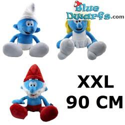 3x Smurf Plush XXL (+/- 90 cm)
