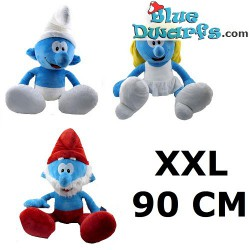 Smurfen knuffel: Smurf (+/- 90 cm)