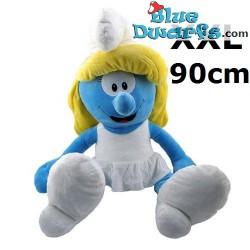 Smurfen knuffel: Smurfin  (+/- 90 cm)