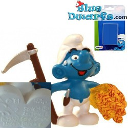 20145: Farmer with Scythe Smurf (21010 Smurf on Blister)