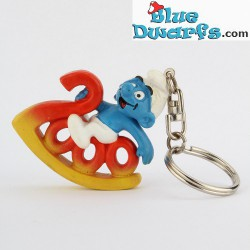PROMO: millennium Smurf  sleutelhanger *klein*