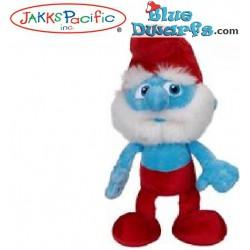 Smurf Plush: Papa smurf *Jakks Pacific* (+/- 20 cm)