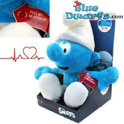 "Smurf Plush: Normal smurf ""Feel the heartbeat"" (+/- 45 cm)"
