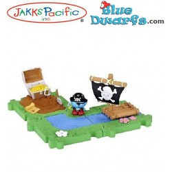Pirate smurf Starters set *Jakks Pacific*