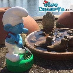 6 Garden Smurf figurines (Goldie Marketing)