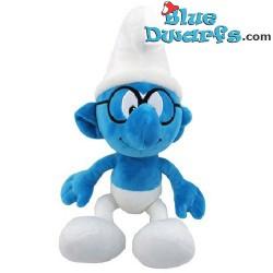 Smurf Plush: Brainy smurf (+/-45 cm)