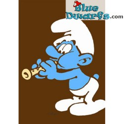 Postcard: Flautist Smurf (15 x 10,5 cm)