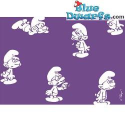 Postcard: Brainy smurf PURPLE (15 x 10,5 cm)