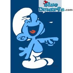 carte postale farceur schtroumpf bleu 15 x 105 cm - Schtroumpf Farceur