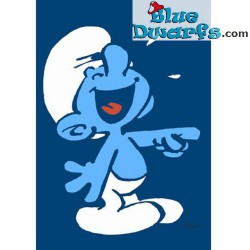Postcard: Jokey Smurf BLUE (15 x 10,5 cm)