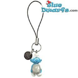 Plastic smurf pendant: Hefty Smurf