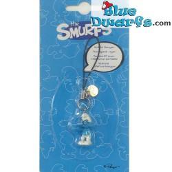 Plastic smurf pendant: Brainy Smurf (+/- 2,5 cm)