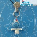 Plastic smurf pendant: Astro Smurf (+/- 2,5 cm)