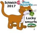 20794-20799 (2017): Lucky smurfs  (6 smurfs)