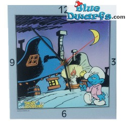 Smurf clock (nightwatch)