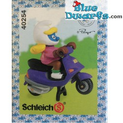 40254: Motor Scooter Smurfette (Supersmurf MIB)