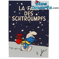 Postkarte: 'La faim des schtroumpfs'  (15 x 10,5 cm)